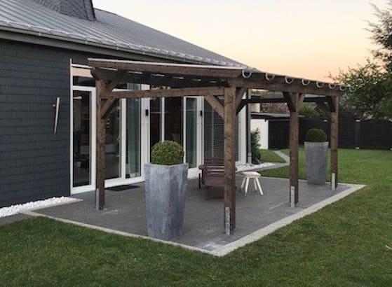 Terrassenüberdachung Freistehend Holz Bauplan ~ Terrassenüberdachung aus holz u eine gute wah